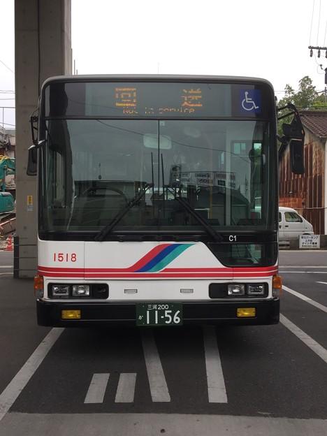 名鉄バス 三菱ふそうエアロスター 三河200か11-56