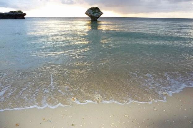 写真: 渡具知ビーチ砂浜