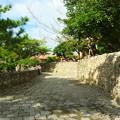 写真: 石畳