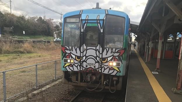 キハ120系三江線ラッピング