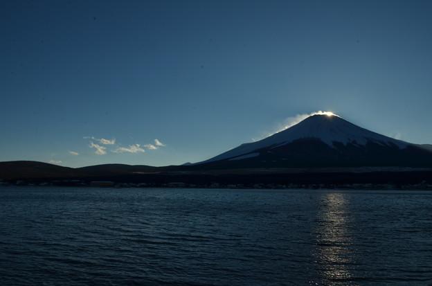 ダイヤモンド富士の名残2