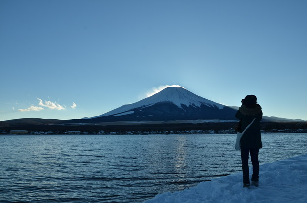 ダイヤモンド富士の名残3