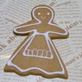 Photos: 【グルメ】ジンジャーブレッドピープル(アメリカ)|世界のお菓子コレクション|BERNE 洋菓子のベルン[東京]