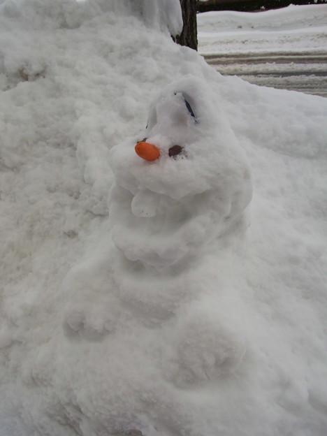 【東北】時代を象徴する雪だるま 山形[2015]