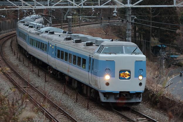 Photos: 189系M50編成かいじ195号