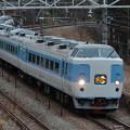 写真: 189系M50編成かいじ195号