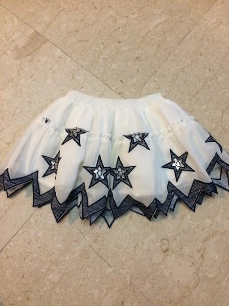 32. Seed 星スカート サイズ1-2歳 3SGD