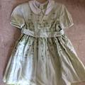 写真: 61. イタリア製刺繍ドレス サイズ3歳 10SGD