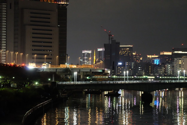 桜橋から。