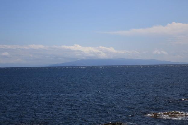 Photos: 140829-43北海道ツーリング・白神岬からの本州(2/2)
