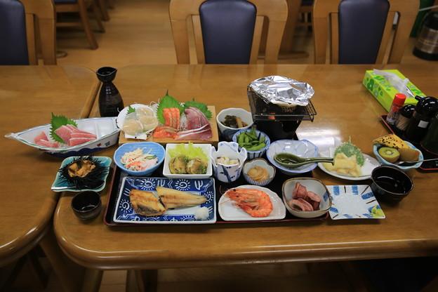 140829-54北海道ツーリング・大間での夕食
