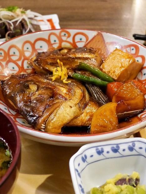 写真: 金目鯛の煮付け