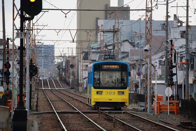Photos: 阪堺モ701型 703号
