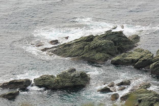 佐田岬灯台海岸線