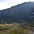 写真: 尾去沢鉱山 大煙突と選鉱場