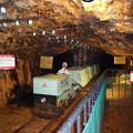写真: 尾去沢鉱山 坑道内部10