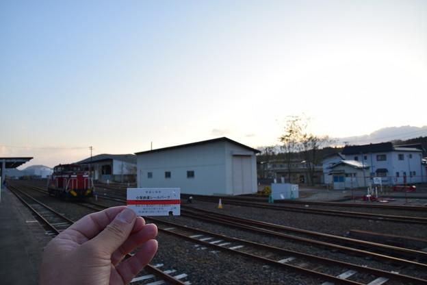 写真: 小坂鉄道レールパーク 小坂駅2
