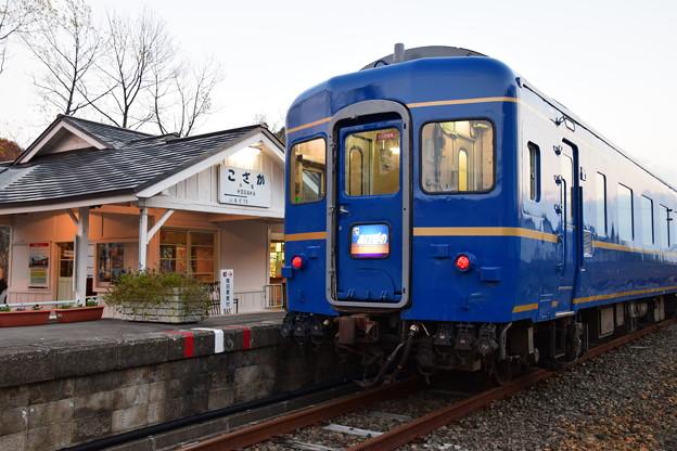 写真: 小坂鉄道レールパーク ブルートレイン