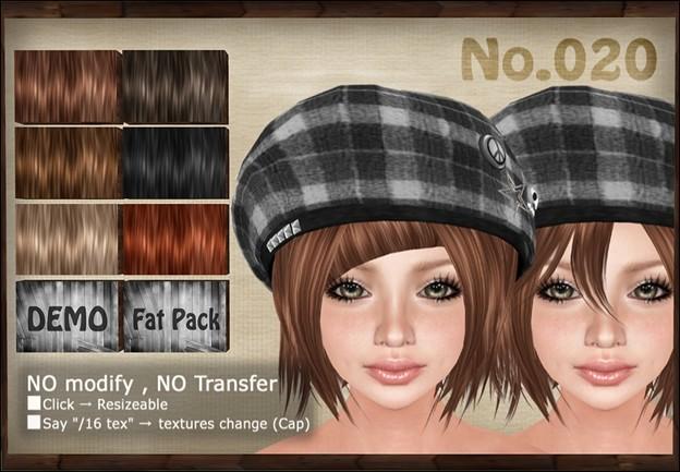 [ Love Soul ] Hair+Cap*020*