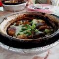 街角・クレイポット・チキンライス(土鍋鶏飯)。