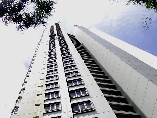 高層ビルの塗装・2