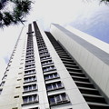 写真: 高層ビルの塗装・2