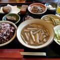 写真: カフェレストラン 長楽(田芋膳)