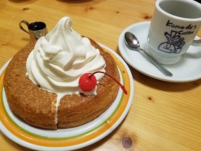 写真: 珈琲所コメダ珈琲店「シロノワール」