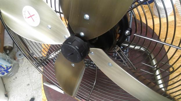 レトロ風扇風機