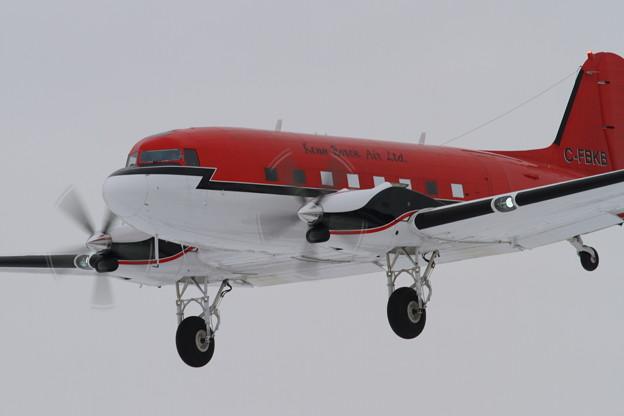BT-67 C-FBKB approach