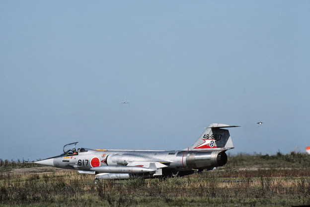 Photos: F-104J 46-8617 207sq CTS 1985OCT