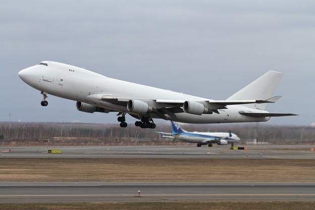 B747-400F N407KZ ATLAS AIR takeoff