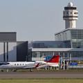 写真: Learjet60XR B-3926 taxiing