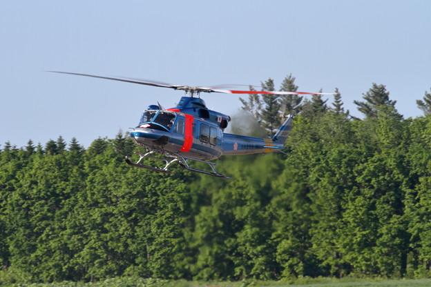 Bell412EP JA01HP 道警航空隊 at OBO