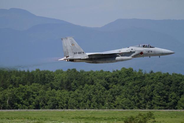 F-15J 874 201sq takeoff
