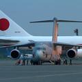 写真: C-2 205 作業準備(2)
