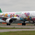 Photos: A321 EVA HelloKitty なかよしJet B-16207