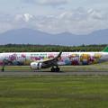 A321 EVAなかよしJetと樽前山
