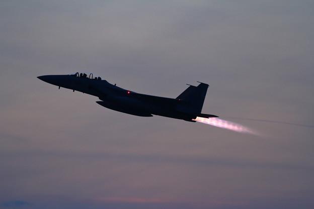 F-15DJ 201sq Night TRG