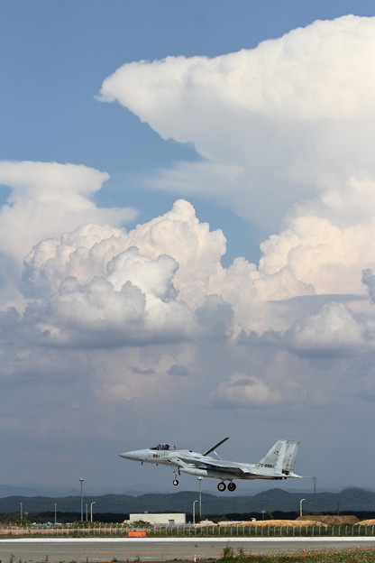 F-15と雲 (3)