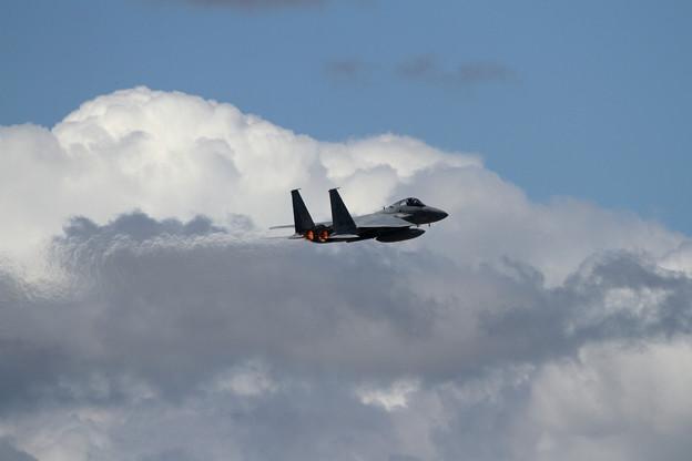 F-15と雲 (4)