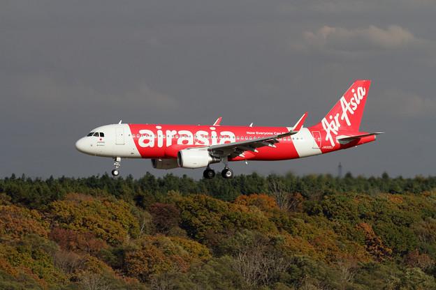 A320 AirAsia Japan WAJ 冬季スケジュールから就航