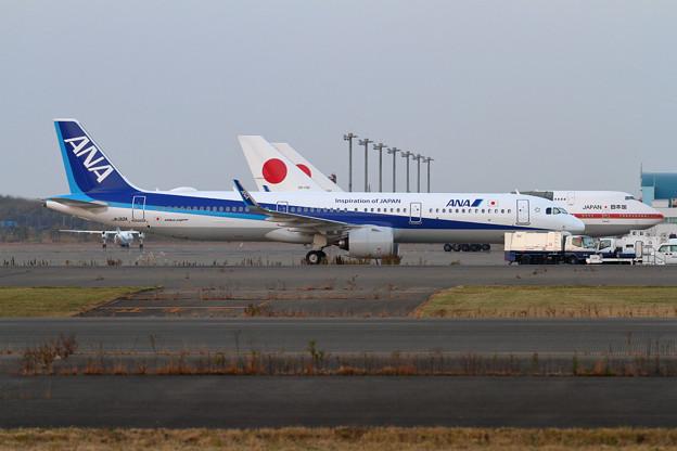 A321neo JA132A ANA