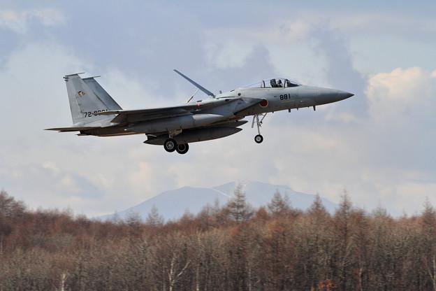 F-15 881 201sq landing