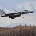 写真: F-15 881 201sq landing
