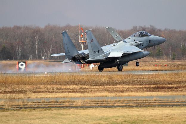 F-15 911 203sq landing