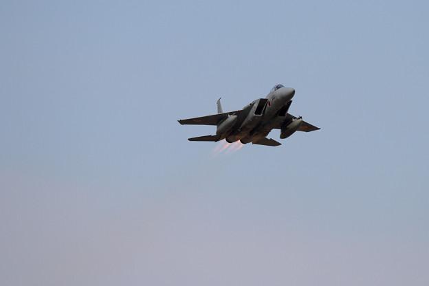 F-15 203sq takeoff