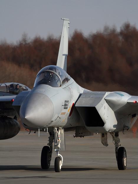 F-15 203sq 帰投 (1)