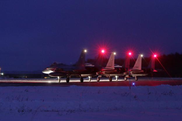 F-15 201sq Night Flightへ
