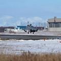 写真: F-15DJ landing to Rwy36R
